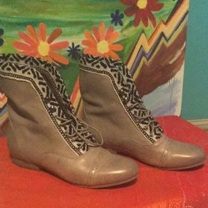 Fortress of Inca Anthropologie Booties 6
